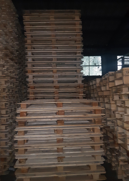 used CP 3 pallets