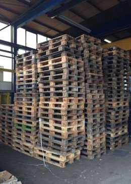 Used europallets C