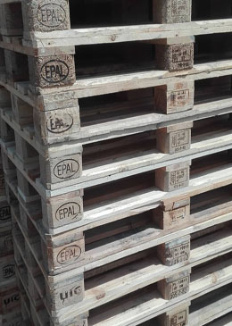 Used europallets A